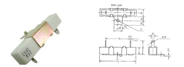 臥式水泥電阻-SQHG