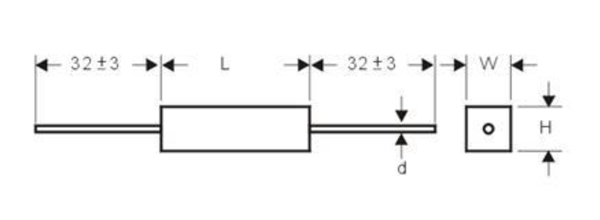 臥式水泥電阻-SQP
