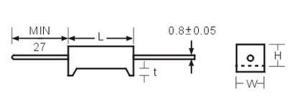 臥式水泥電阻-SQT